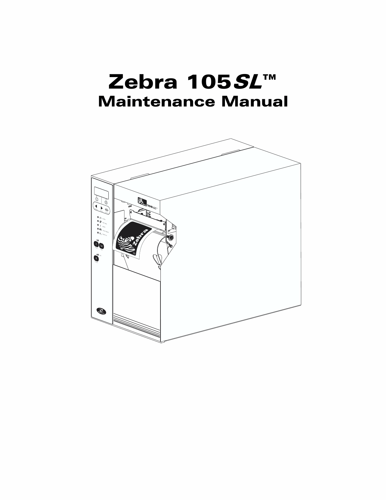 Zebra 105sl manual