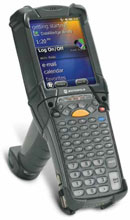 Symbol-Motorola-Zebra MC9200 Wont connect to the Internet